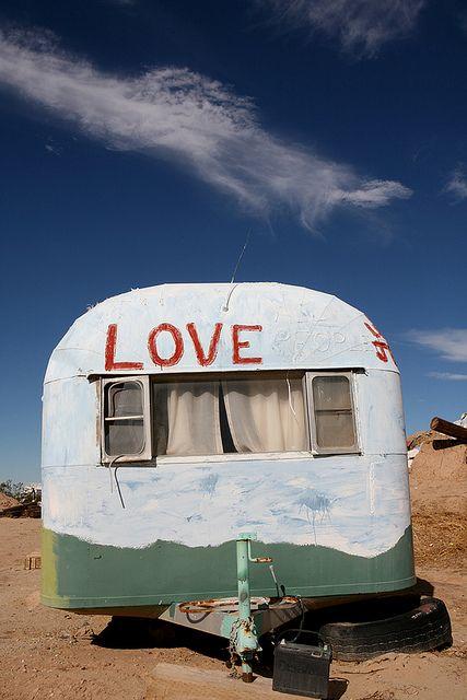 vintage camper...love