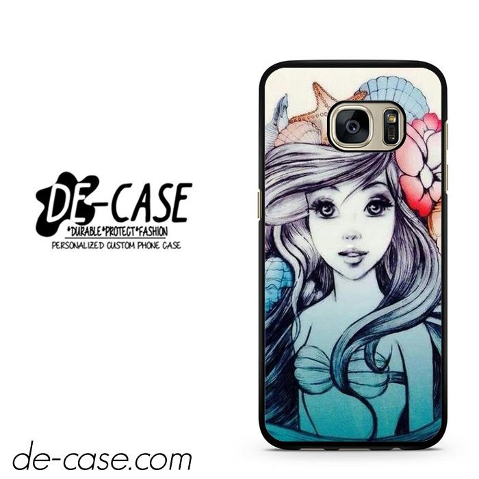 Little Mermaid Tattoo Sleeve DEAL-6580 Samsung Phonecase Cover For Samsung Galaxy S7 / S7 Edge