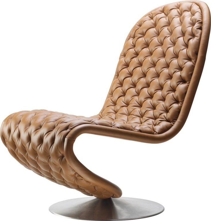 Ergonomic Swivel #armchair SYSTEM 1 2 3 By Verpan | #design Verner Panton