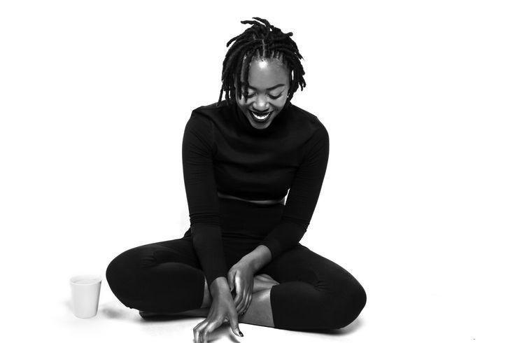 #studioshoot #photography #studiophotography #smile #blackandwhite #monochrome #queening #thunzym