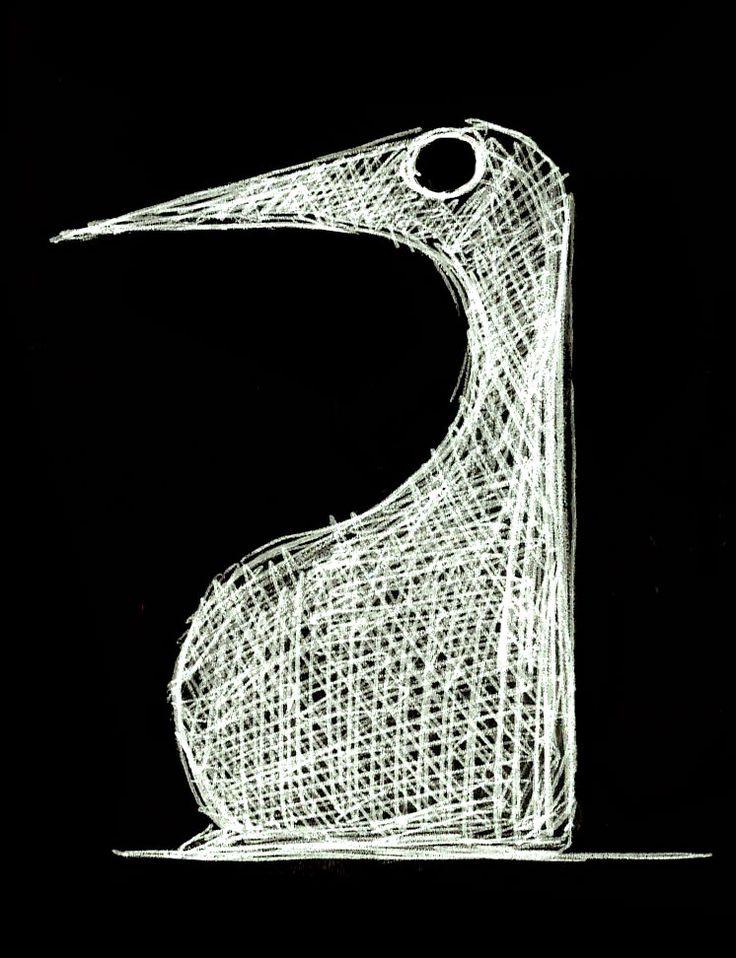 Pingouin (stylo bille) ©Antoine Digout