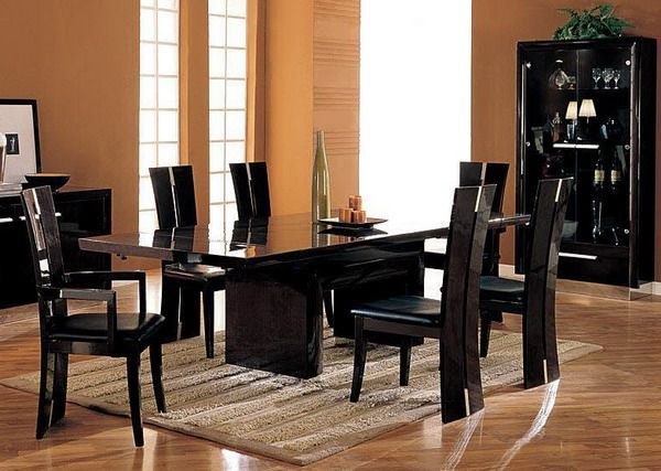 best 20+ black dining table set ideas on pinterest