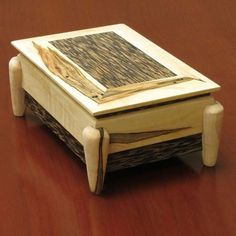 Asian Jewelry Box Woodworking Plans  INCLUDE A 13-Page Downloadable Plan with Interactive Model, Video Tutorial, Material List, Cutting Diagram, Milling Instructions, Assembly Instructions, Finishing Instructions.