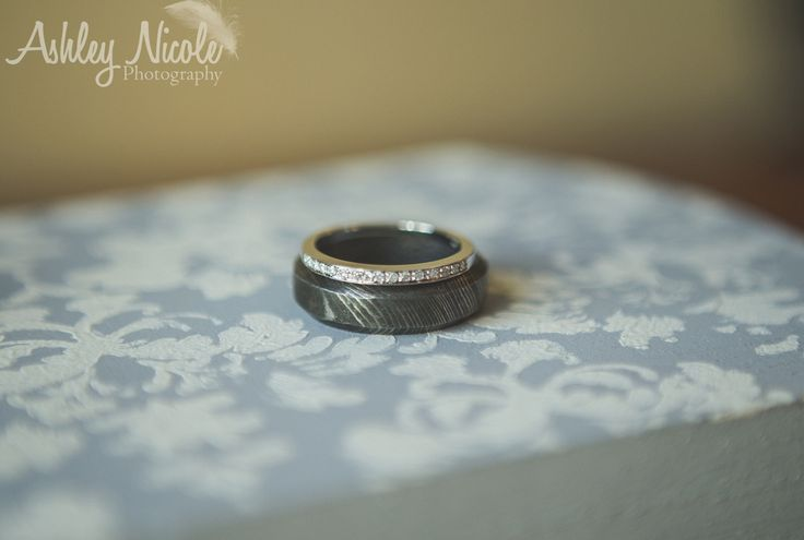 Traditional Wedding- Bride and groom rings