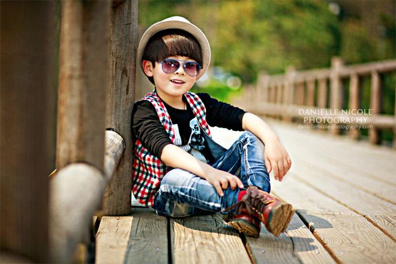 cool boy pose