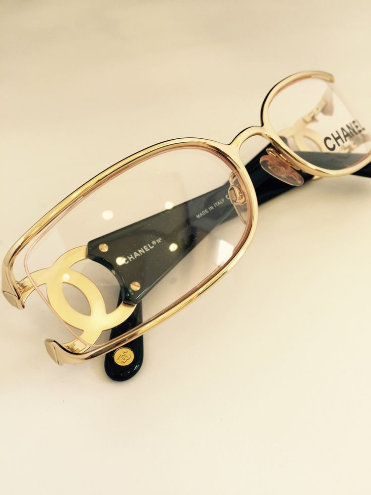 CHANEL Authentic vintage Eye glasses #2022 by athensoptical on Etsy