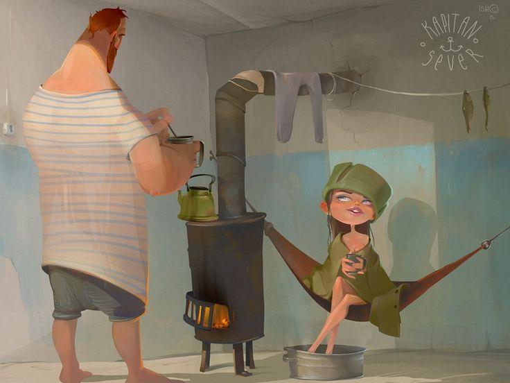 Illustration by Sergey Ishmaev