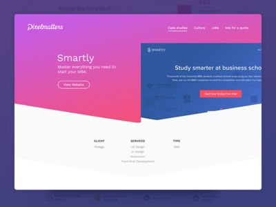 Pixelmatters • Smartly Case Study
