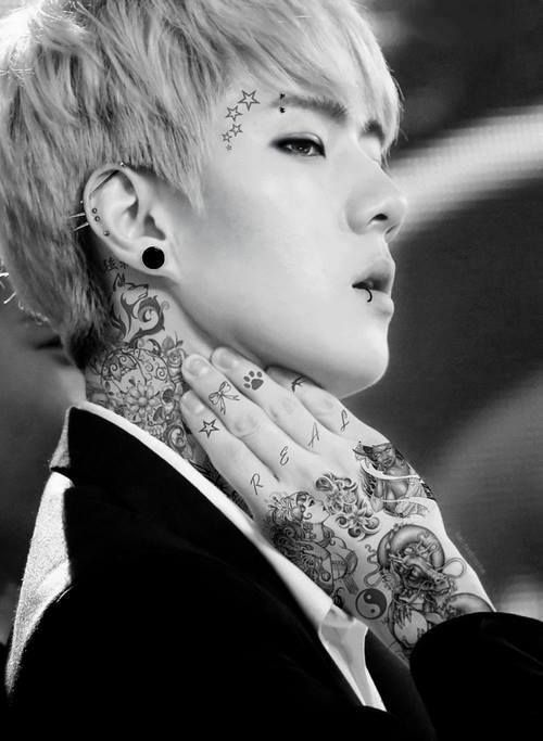 114 best images about kpop idol edits piercings and tattoos on pinterest
