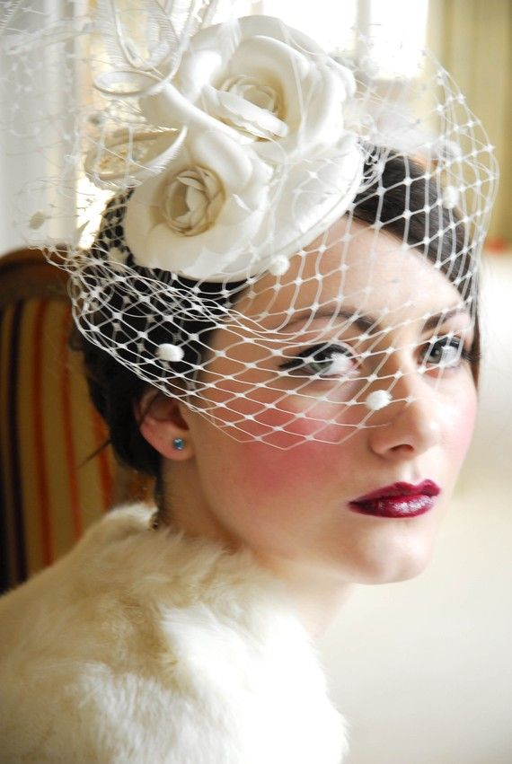 I am going for this sophisticated vintage style for my wedding.