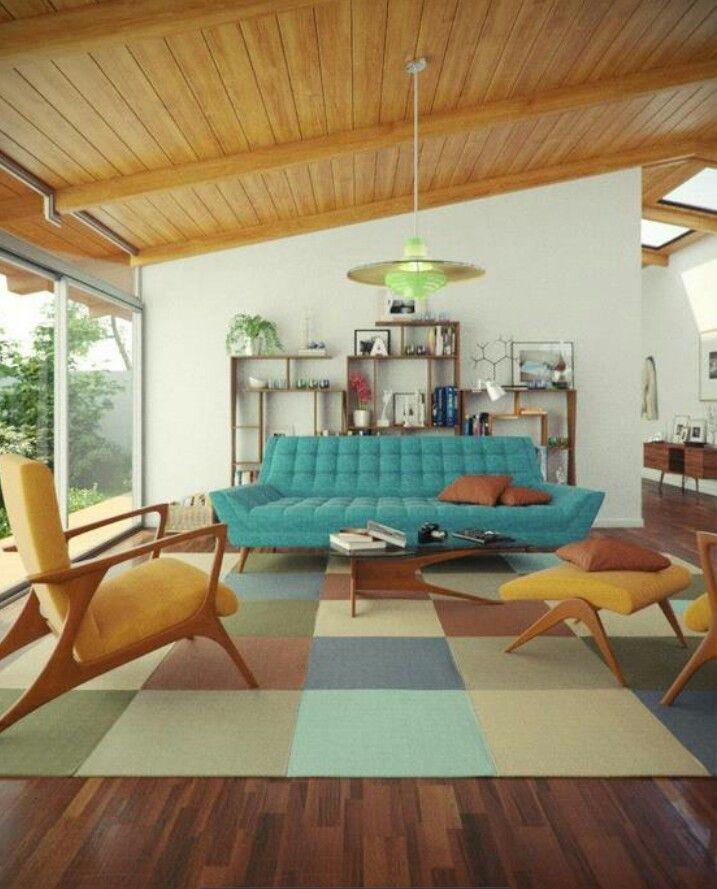 Mid century modern style... Timeless