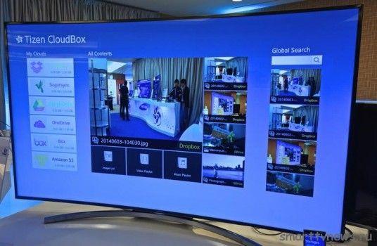 Новая платформа Tizen для Samsung Smart Tv