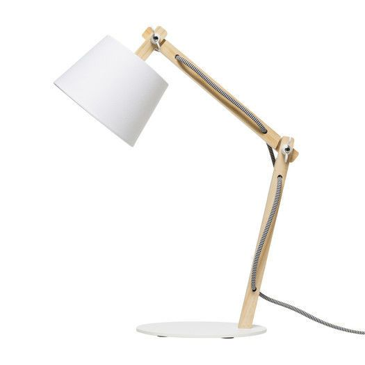 Ollie Table Lamp- White