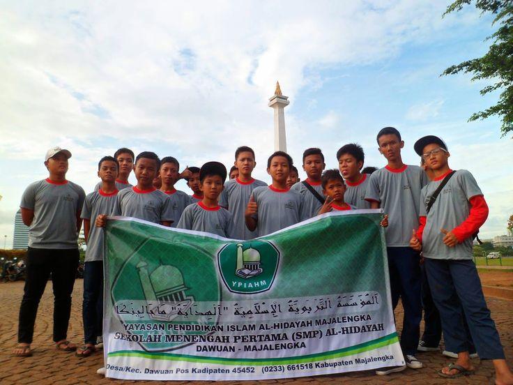 SMP Unggulan Al-Hidayah mempercayakan organize Study Tour to PP IPTEK - TMII tgl. 07 - 08 Januari 2015 pada #PesonaTransWisata. PIN 2A82A1F9