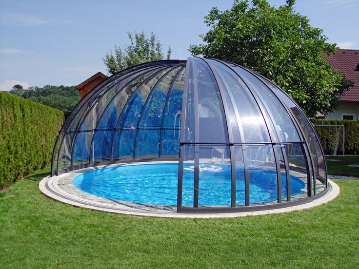 High pool enclosure ORIENT is made from high-quality materials and profesionally installed by our experts.