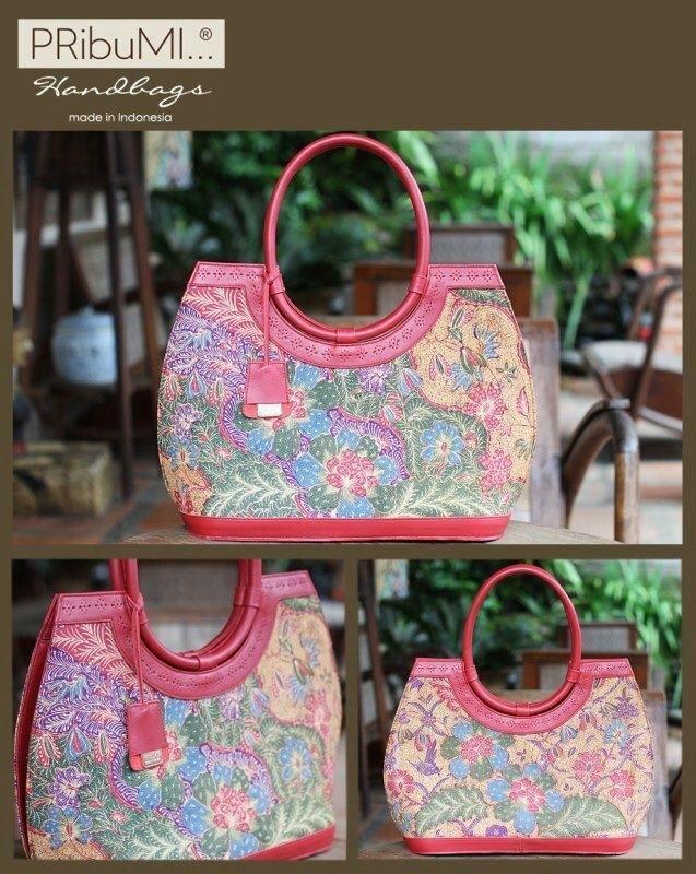 MANDANGIN Tote Bag /Style Series / Serial #2143066B / Sarung 3 N Ungu Tua / Red Velvet Italian Premium Genuine Cow Leather / 25 April 2013 / by Vitalupi Wahyu