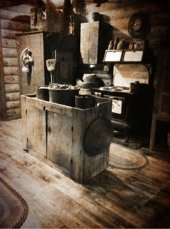 17 Best Images About Primitive Dry Sinks On Pinterest