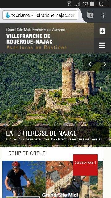 Site de l'OT de Villefranche de Rouergue-Najac