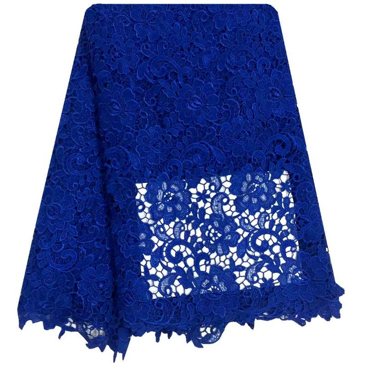 Nuovo disegno tessuto africano del merletto 2016 colore Blu tulle tessuto di pizzo francese per abito da sposa. merletto Svizzero del voile in svizzera