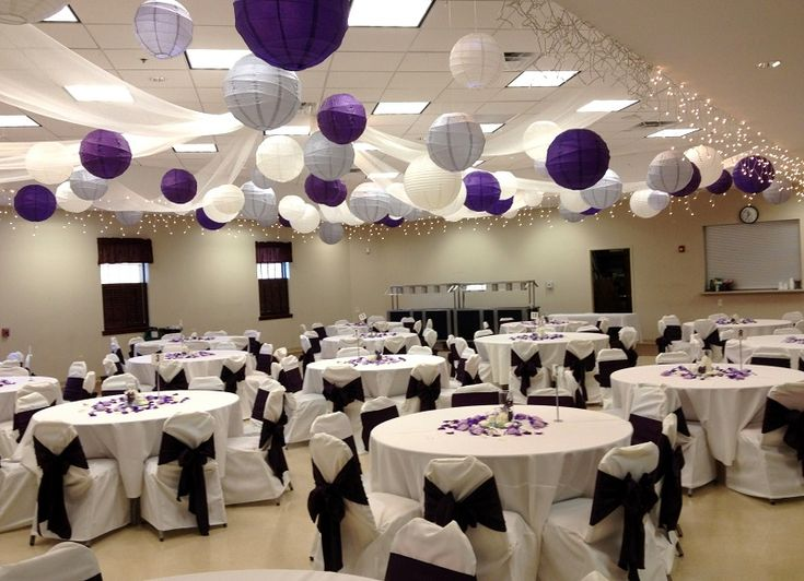 Wedding Decoration Ideas For Reception Hall Decorated Banquet Hall
