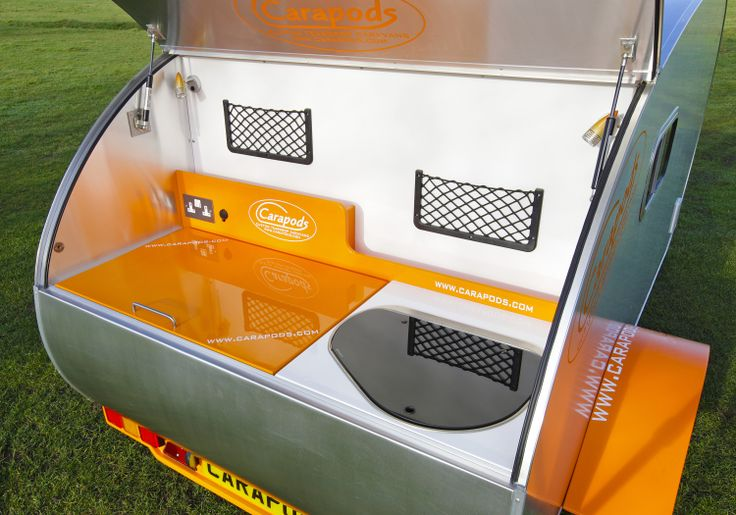 Our neat galley with smev sink/gas burner unit.