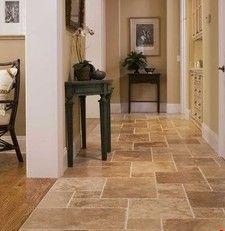 Kitchen Tile Floor to match the backsplash