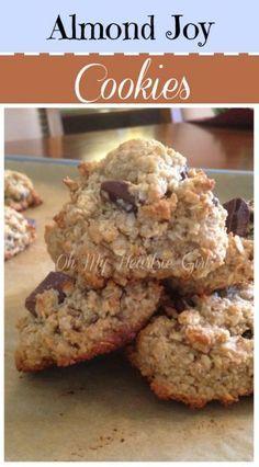 "Almond Joy Cookies-They really taste like an almond joy ""Only Better"""