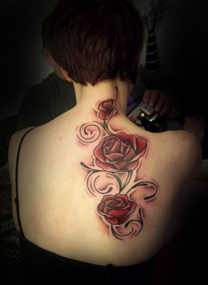 1000 ideas about female back tattoos on pinterest for Inked temptations tattoo studio