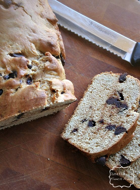 Chocolate Chip Peanut Butter Bread | Recipe