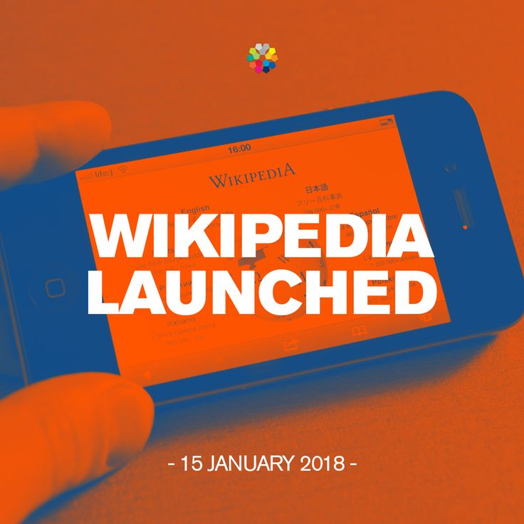On January 15, 2001, Jimmy Wales and Larry Sanger launched Wikipedia, a collaborative Internet-based encyclopedia which is edited and written by the Internet. #Wikipedia