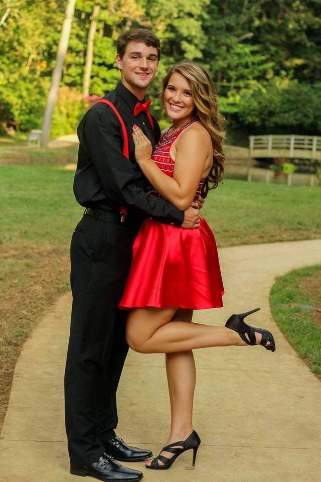 Alicia and Tyler's homecoming pictures