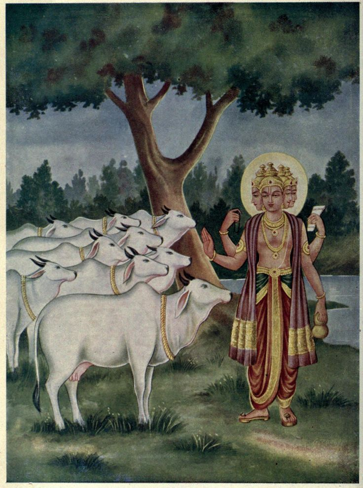 When Brahma was thus standing baffled in his limited power and conscious of his limited activities, he could at least realize that he was also a creation of the material energy, just like a puppet. (Krishna Book, 1970, p.93)