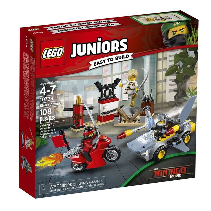 New best toy LEGO Juniors Shark Attack 10739 Building Kit fast 2 days shipping #LEGO