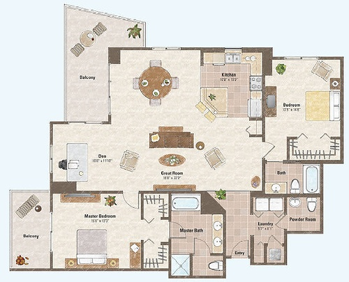 128 Best Apartment Floor Plans Images On Pinterest