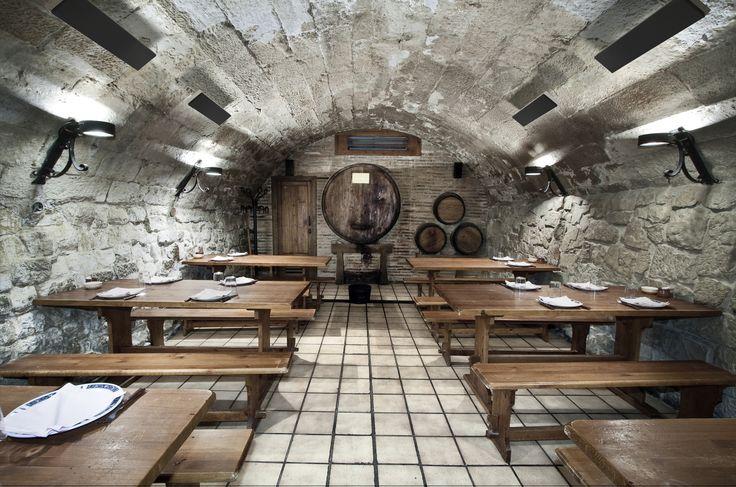 Cellar dining room