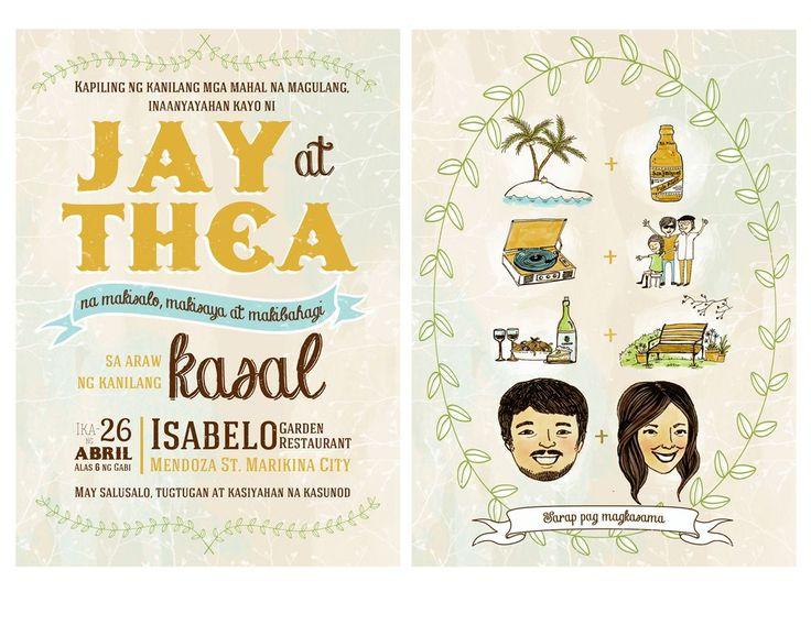 16 best Filipiniana Wedding images on Pinterest Filipiniana - fresh sample wedding invitation tagalog version