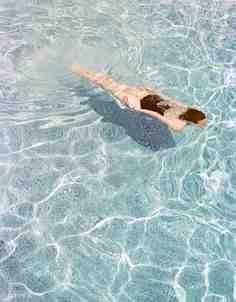 swimming pool or the beach / i'd take both