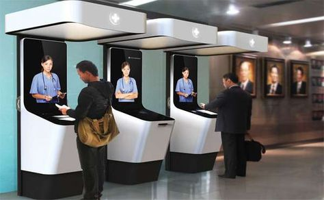 Virtual Triage Kiosks - The Smart Consulting Service Helps Patients Admit Themselves into Hospital (GALLERY)