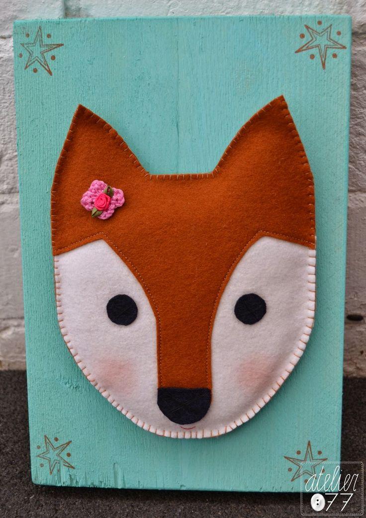 atelier077 - Fox DIY nursery art