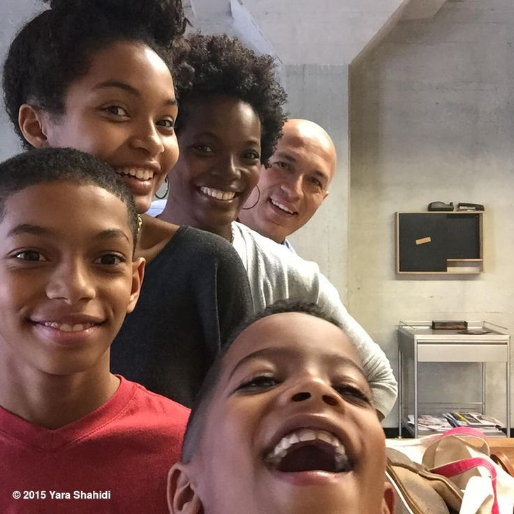 Yara shahidi and family