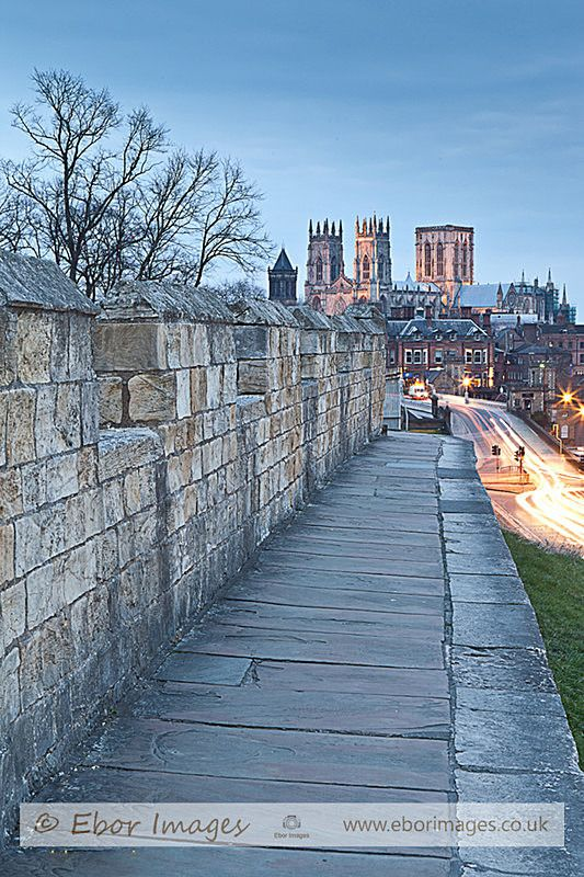York Walls And Minster - York www.eborimages.co.uk