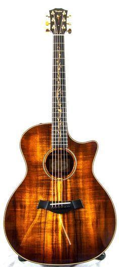 Taylor K24CE Koa Grand Auditorium Electro Acoustic Guitar #taylor #acoustic #guitar #music