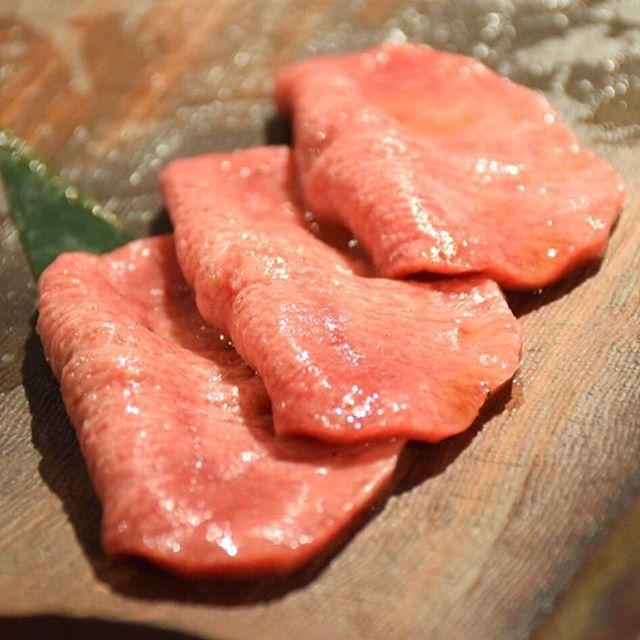 アダルトな牛タン - Wagyu beef tongue, a sensual texture  #beef #wagyu #food #foodgram #foodstagram #yum #delicious #foodies #foodie #eat #steak #travel #tokyo #よろにく#和食 #美食 #グルメ #東京 #焼肉 #foodporn #foodgasm #foodgram #japan #和牛 #hungry #dinner #肉 #食べログ