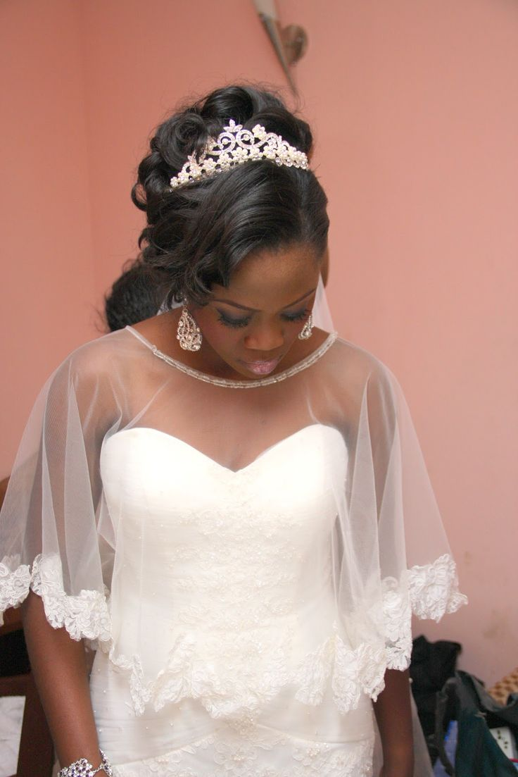 Nigerian Wedding Love The Modified Veil