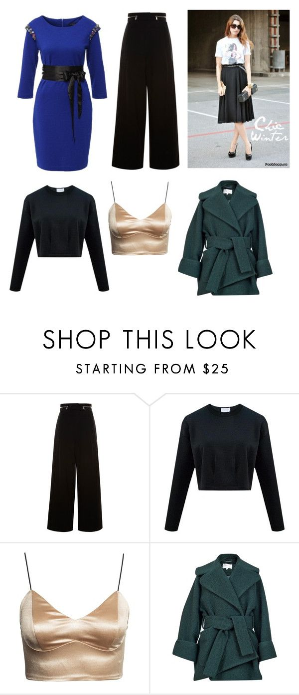 """""""Грудная клетка ум"""" by mara-ya on Polyvore featuring Proenza Schouler and Carven"""