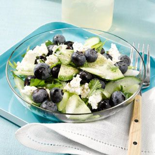 88 best healthy recipes with nutrition facts images on pinterest blueberry cucumber salad forumfinder Images