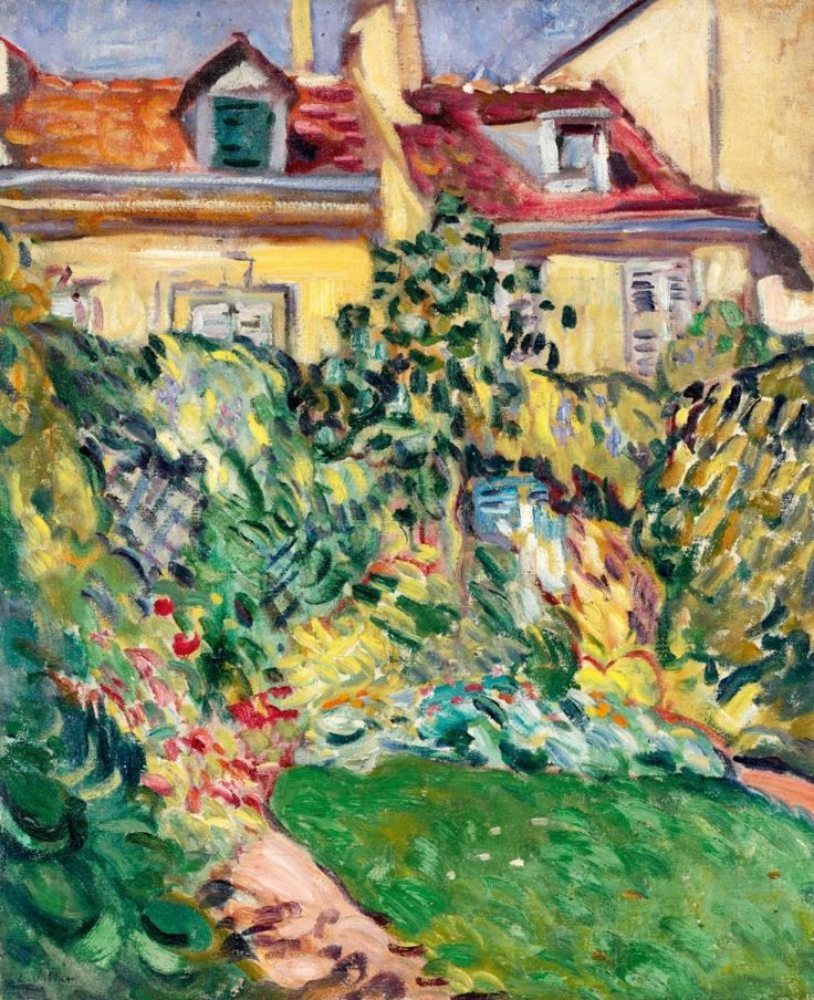 17 best images about art of louis valtat on pinterest oil on canvas the two and french for Maison du jardin paris