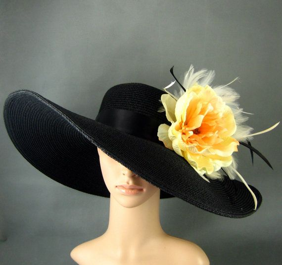 Kentucky Derby Hat Derby Hat Dress Hat Wide by theoriginaltree, $69.97