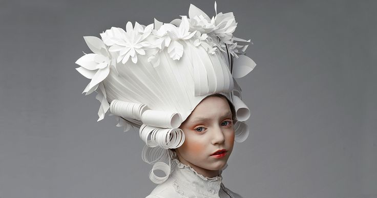 Russian Artist Creates Intricate Baroque Wigs From Paper | Bored Panda