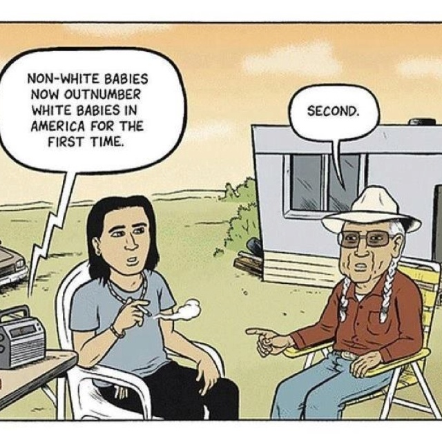It's funny because it's true. American Indian native ...